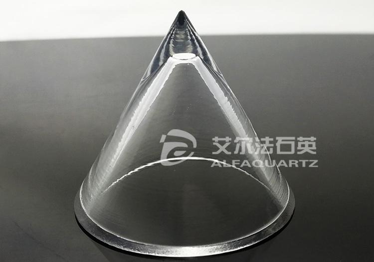 异形锥形石英加工件