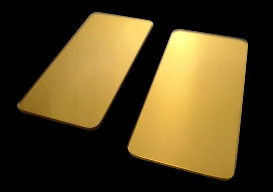 石英镀金片