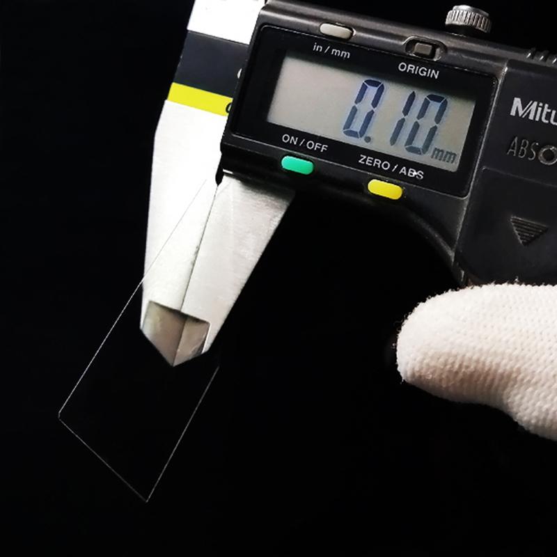 武汉0.1MM 0.2MM 0.3MM 0.4MM 0.5MM厚度超薄石英片窗口片保护片